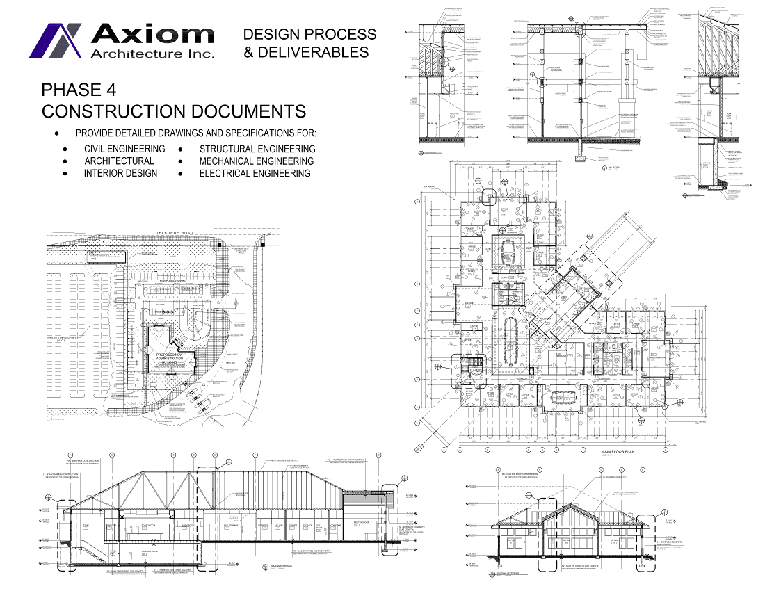Axiom Architecture Inc Phase 4 Construction Drawings and