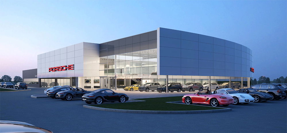 Ford Dealership Edmonton >> Car Dealerships - Axiom Architecture Inc.